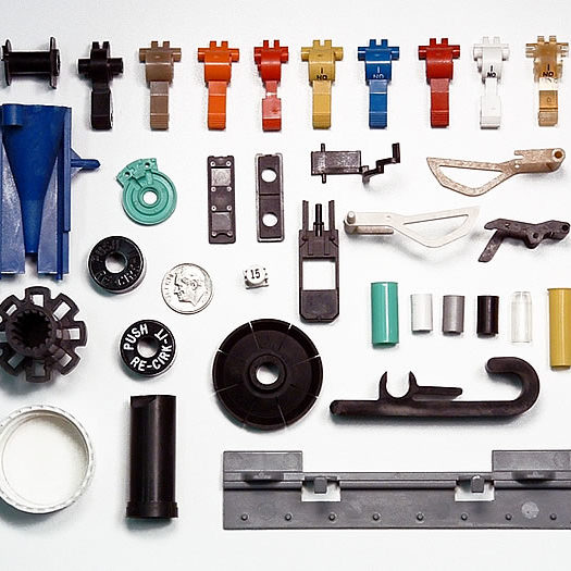 Plastic injection molder and tooling